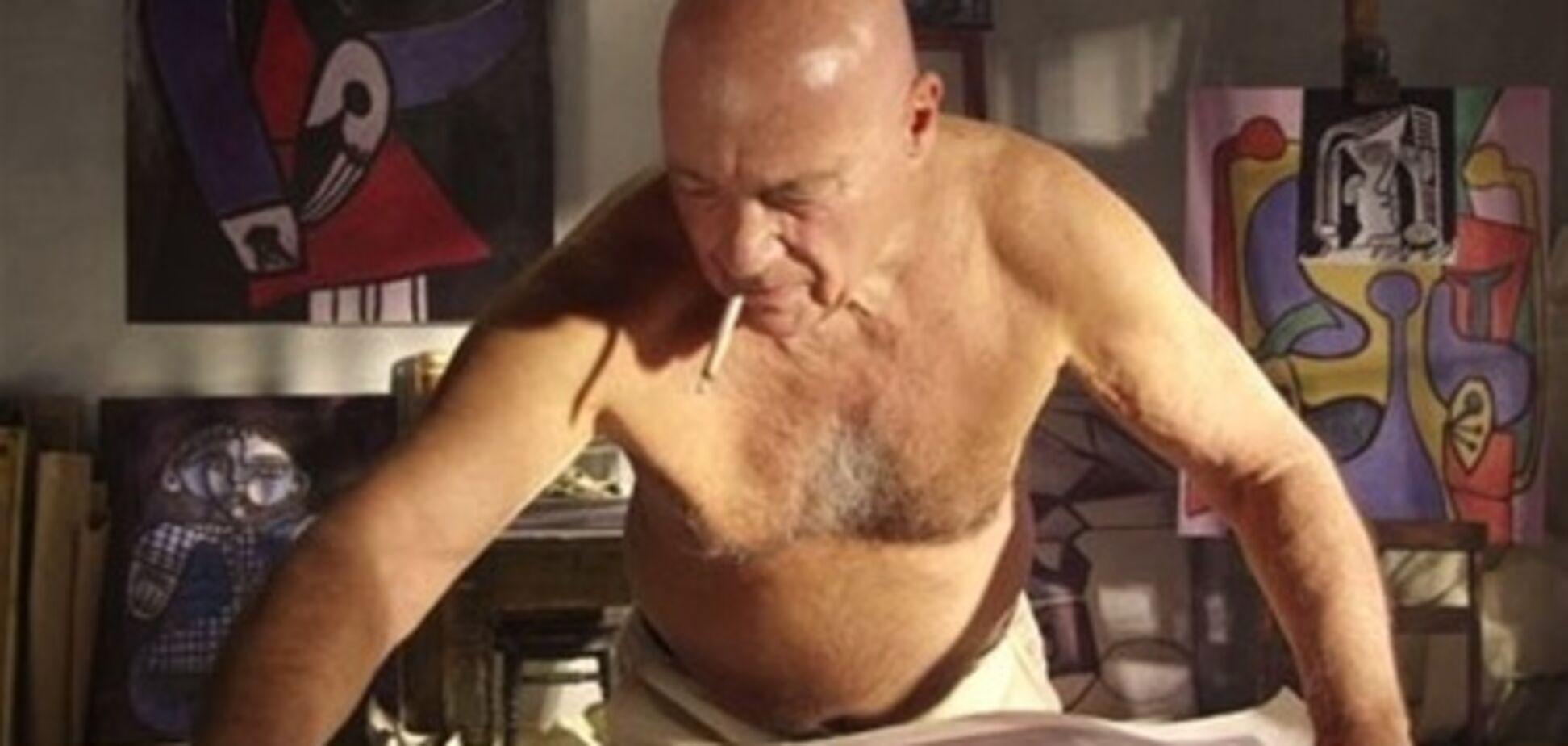 Познер зіграє Пікассо у фільмі Парфьонова. Фото
