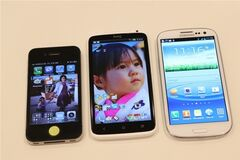 Сравнение Samsung Galaxy S III с главными конкурентами. Фото + таблица