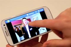Смартфон Samsung Galaxy SIII на первых 'живых' видео
