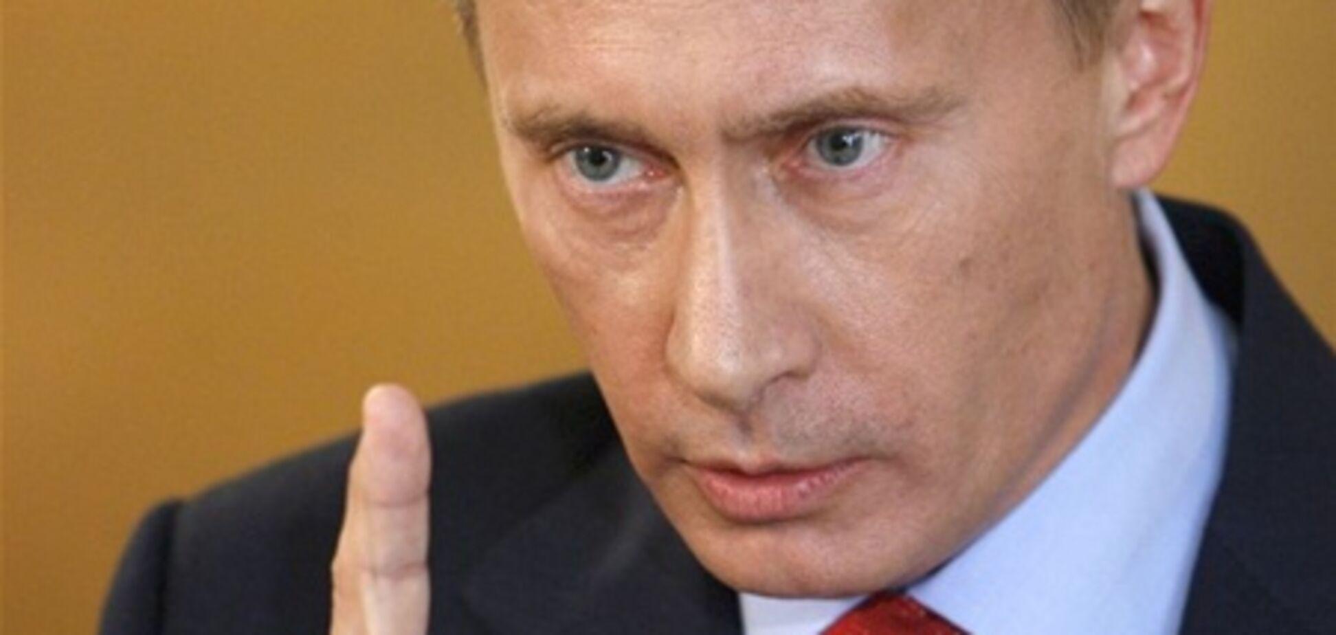 На запрошенні на інавгурацію Путіна - помилка!