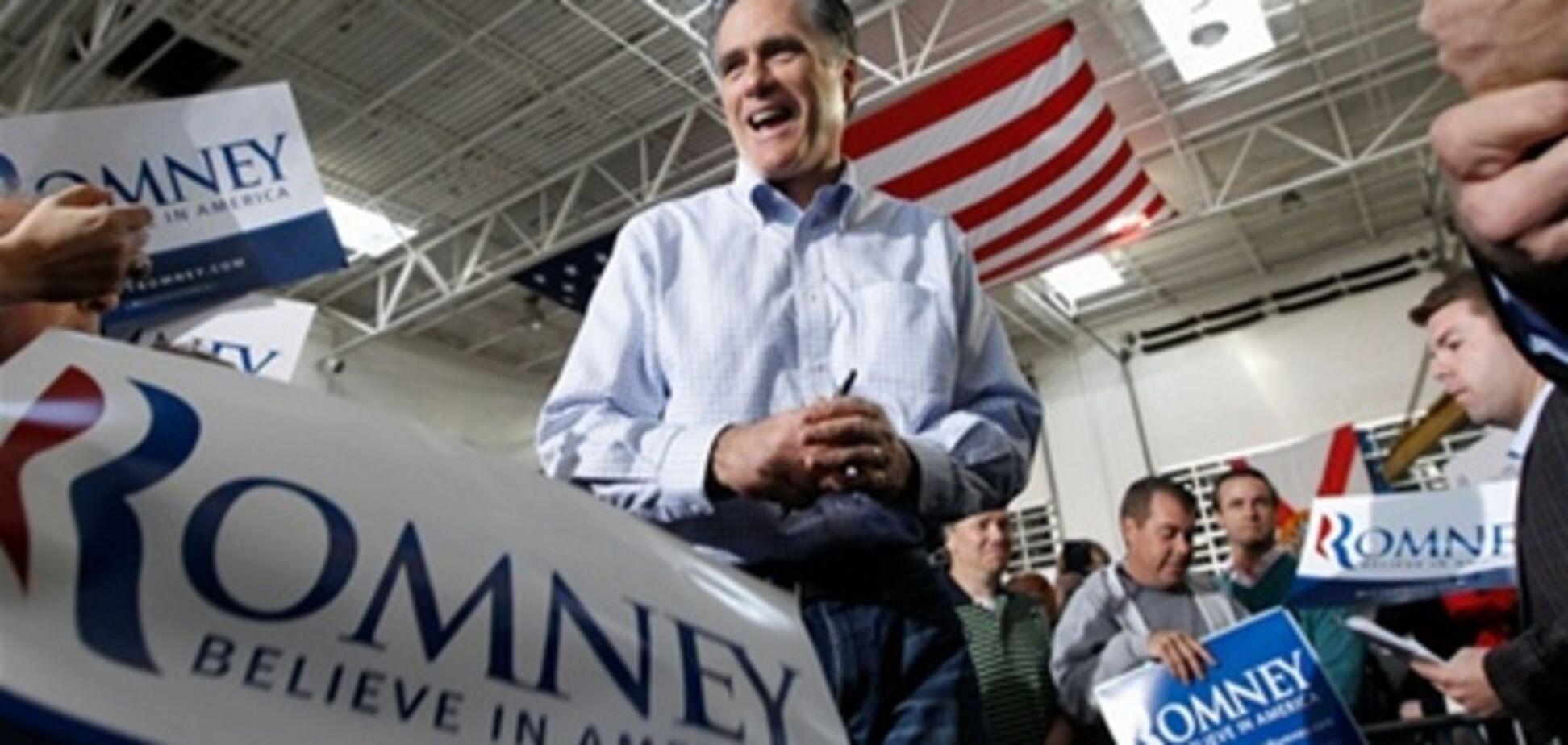 Ромні: Обама віддав гроші платників податків своїм спонсорам