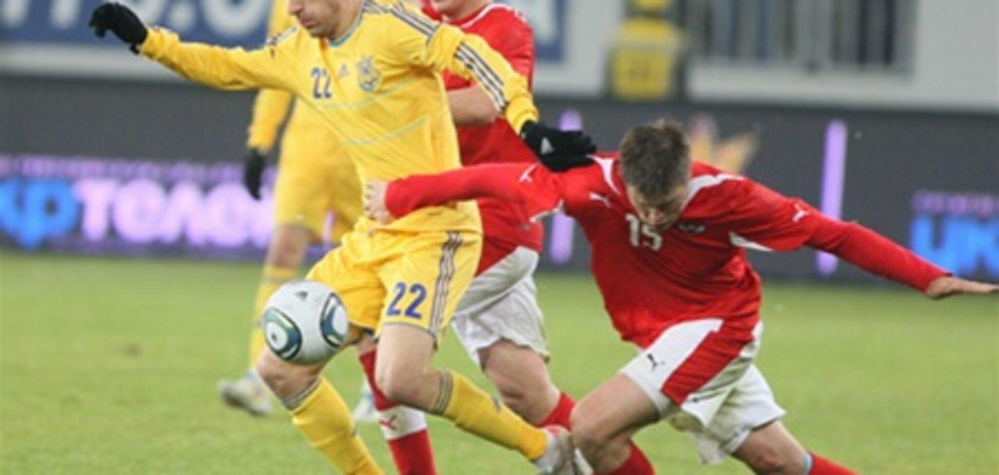 Австрия – Украина – 3:2. Хронология матча и видео голов
