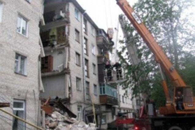 В луцке рухнул 5-этажный дом. добавлено фото и видео обозрев.