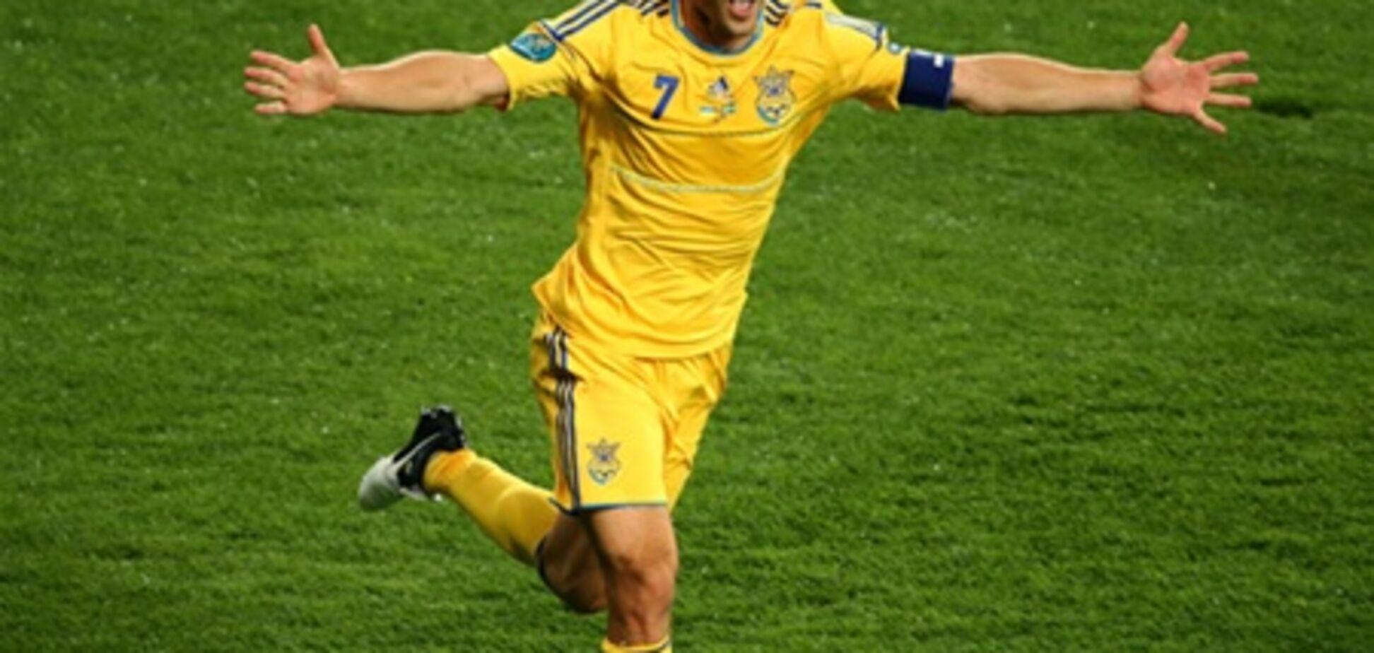 Украина - Швеция. Шедевры от Шевченко. Видео