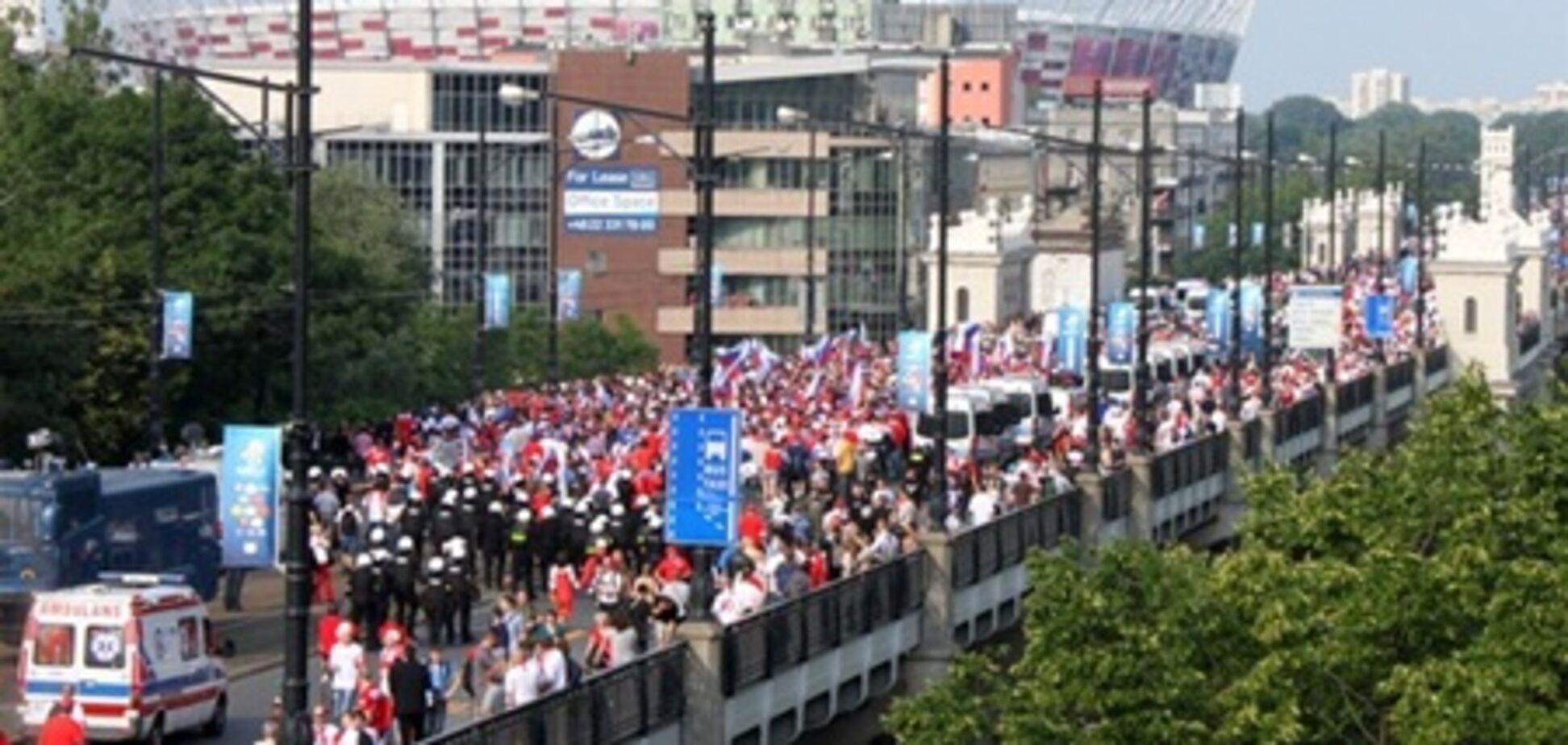 Польско-русская битва на улицах Варшавы. Фото. Видео