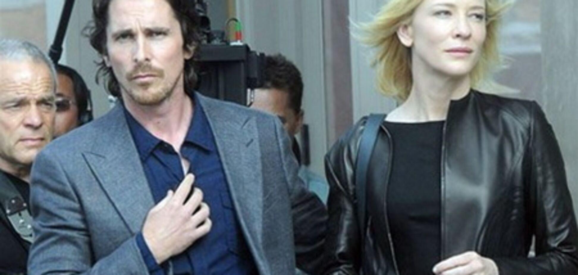 Кристиан Бэйл и Кейт Бланшетт на съемках: новые фото