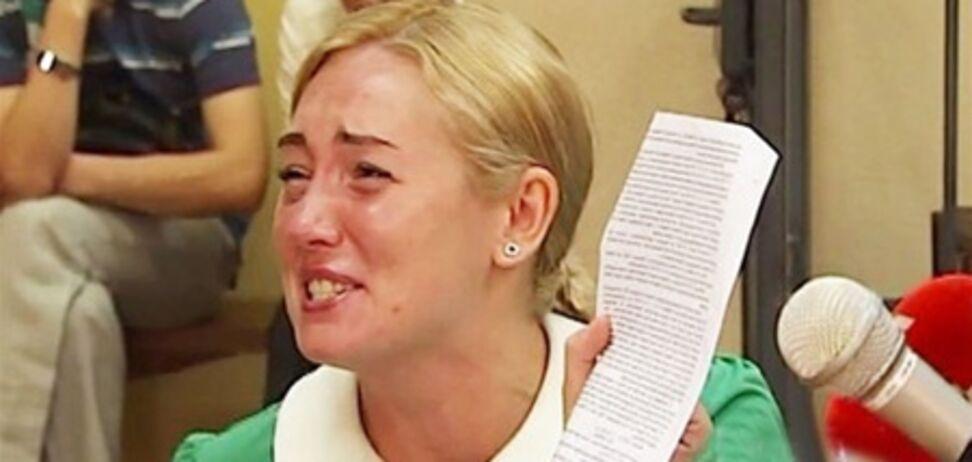 Розинская истерикой и угрозами довела судью до самоотвода