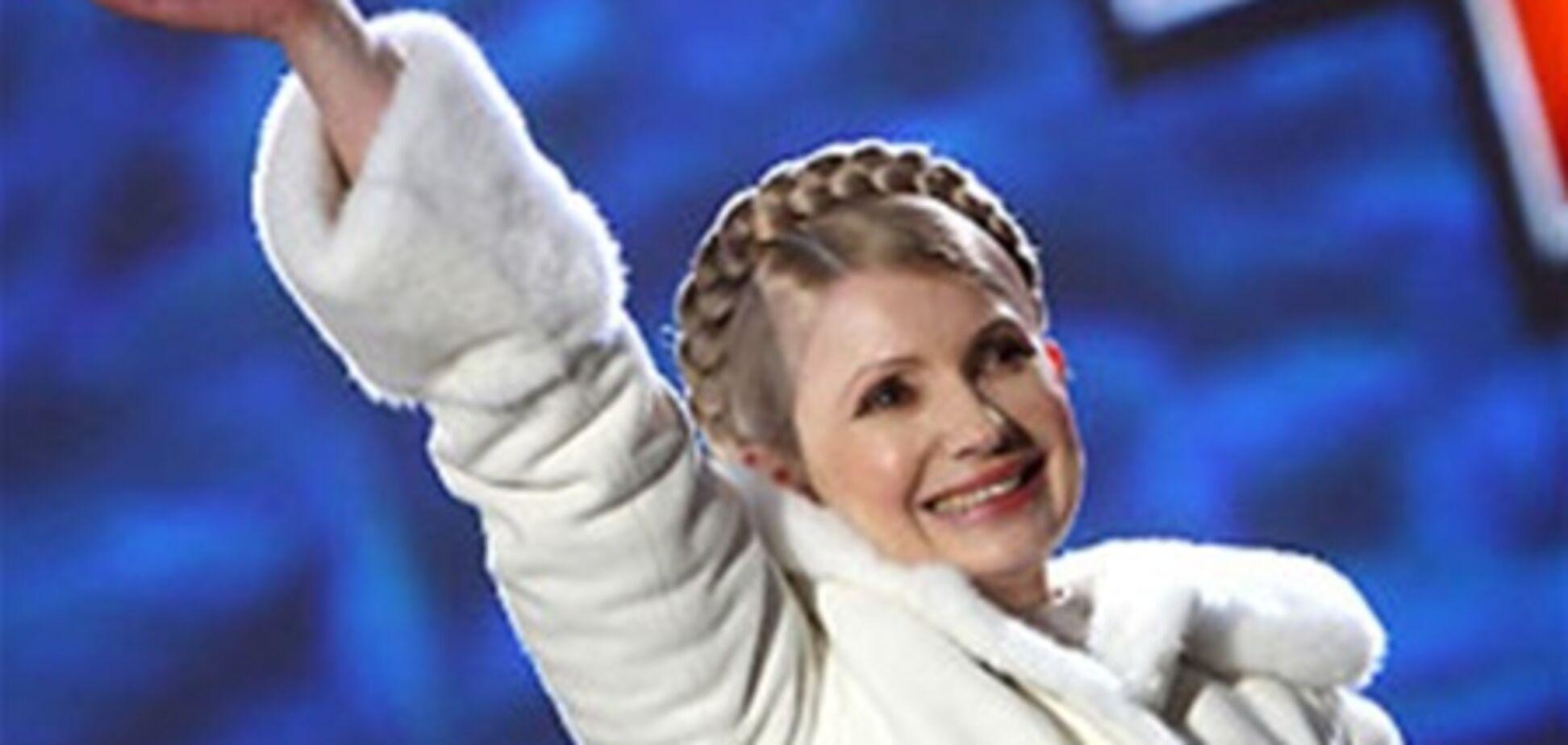 Тимошенко витратила на меха $ 13 тисяч