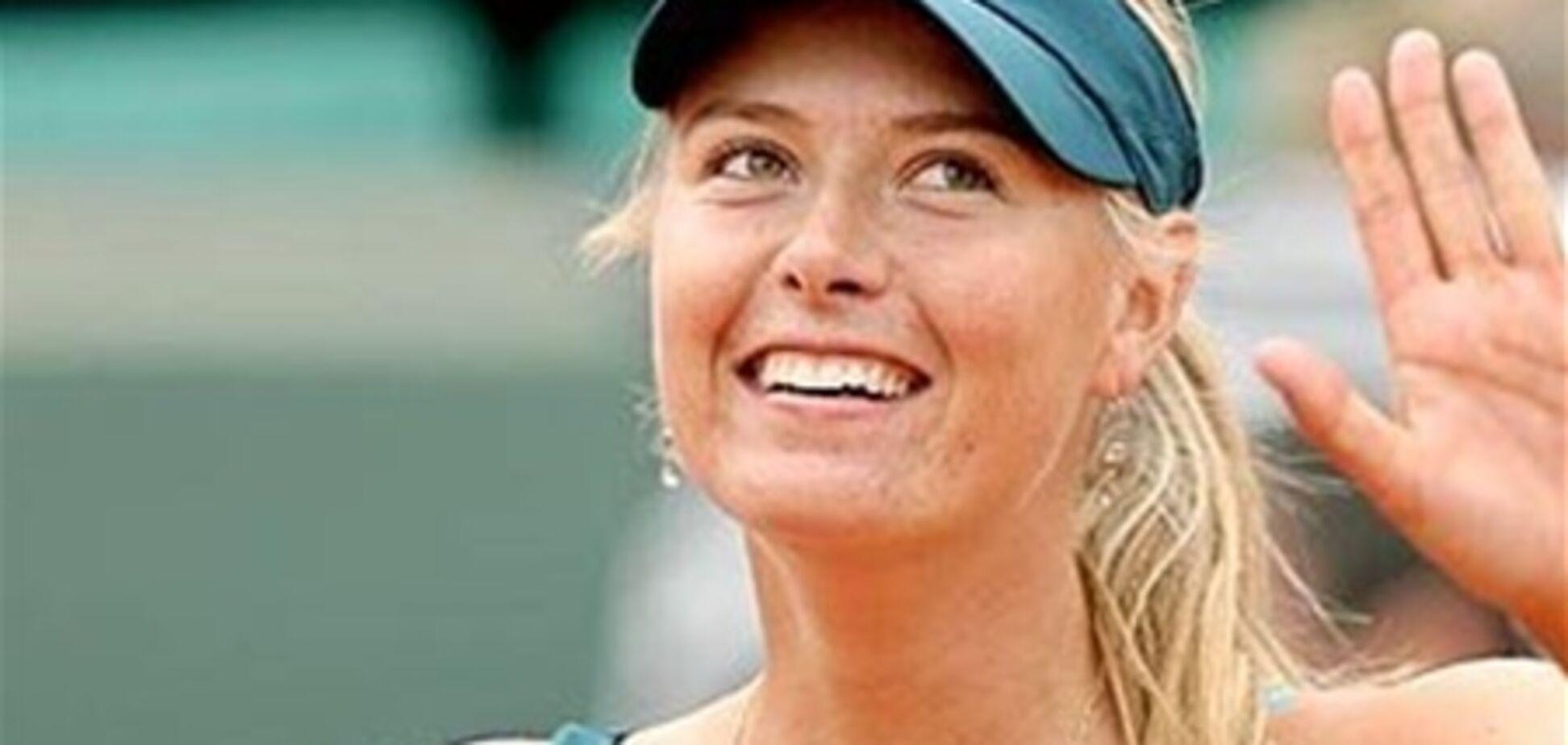 Тенісна асоціація розпочала боротьбу з криками Шарапової на корті