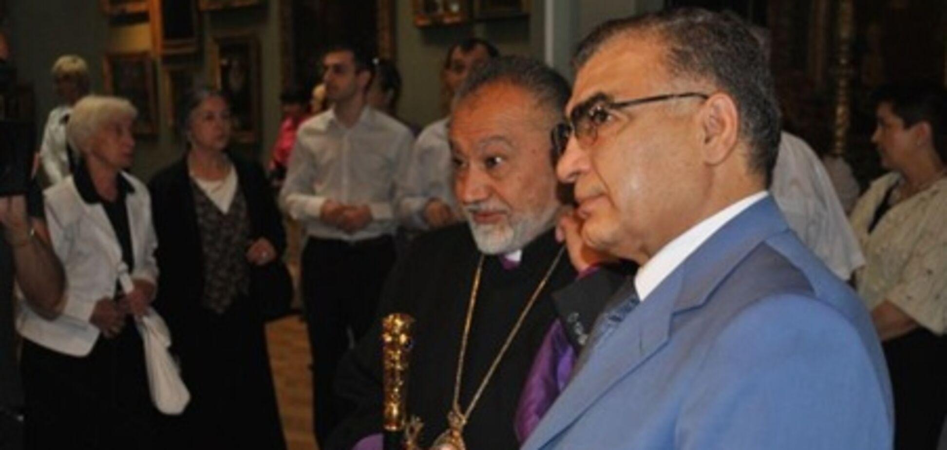 Посол Вірменії милувався іконою