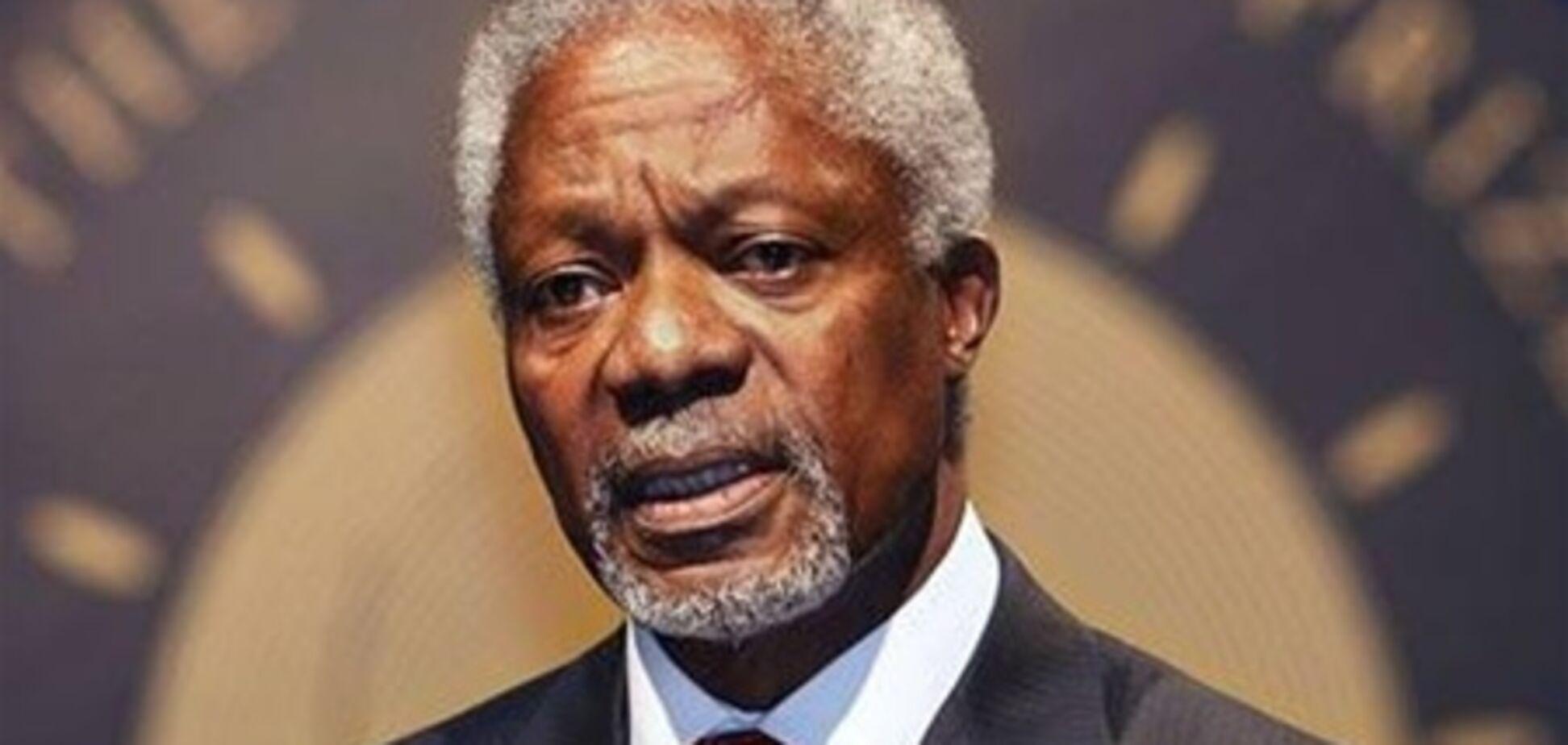 Аннан: кризис в Сирии усугубился