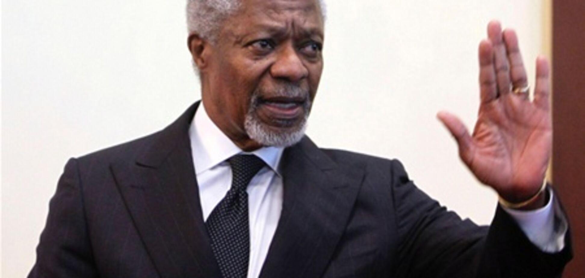 Аннан: в Сирии нужно создать переходное правительство