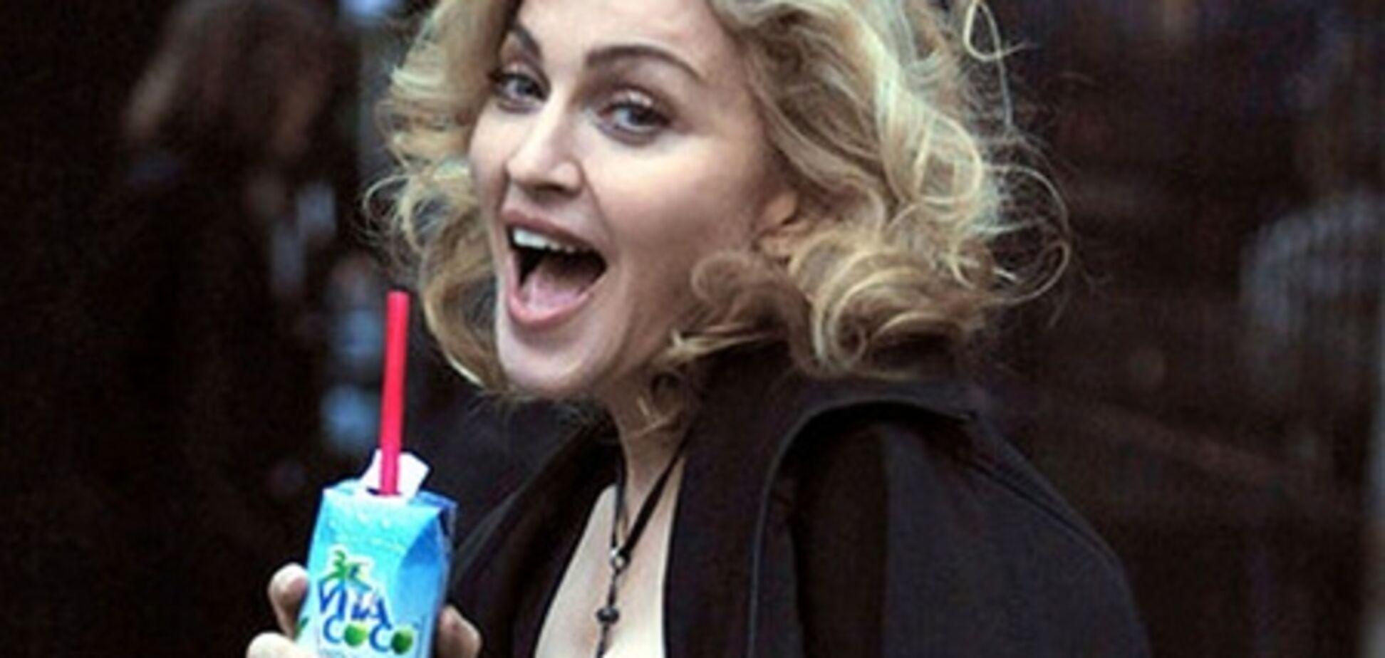 Мадонна забавно подписала туалеты