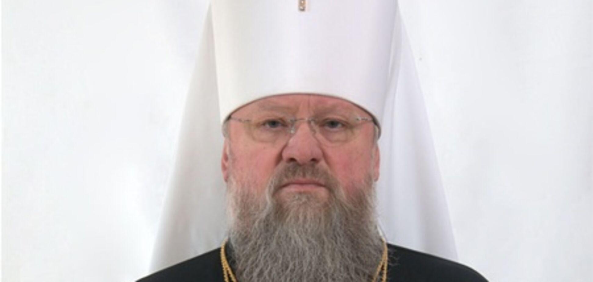 Донецкий митрополит носит часы за 150 тыс. евро