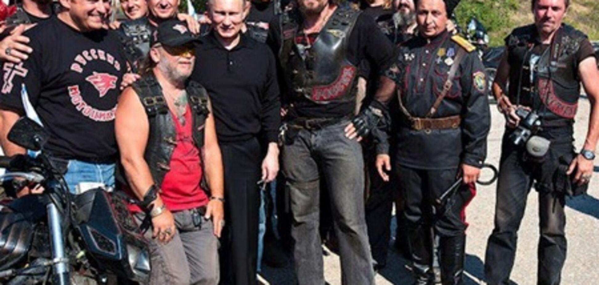 Путін запізнився до Януковича через байкерів