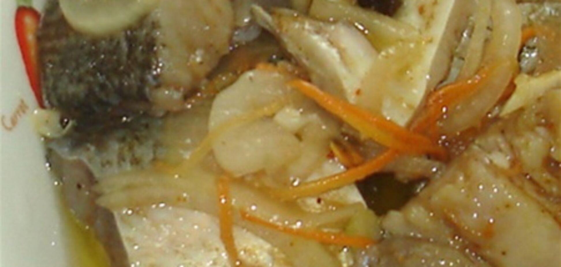 Толстолобик с польским соусом