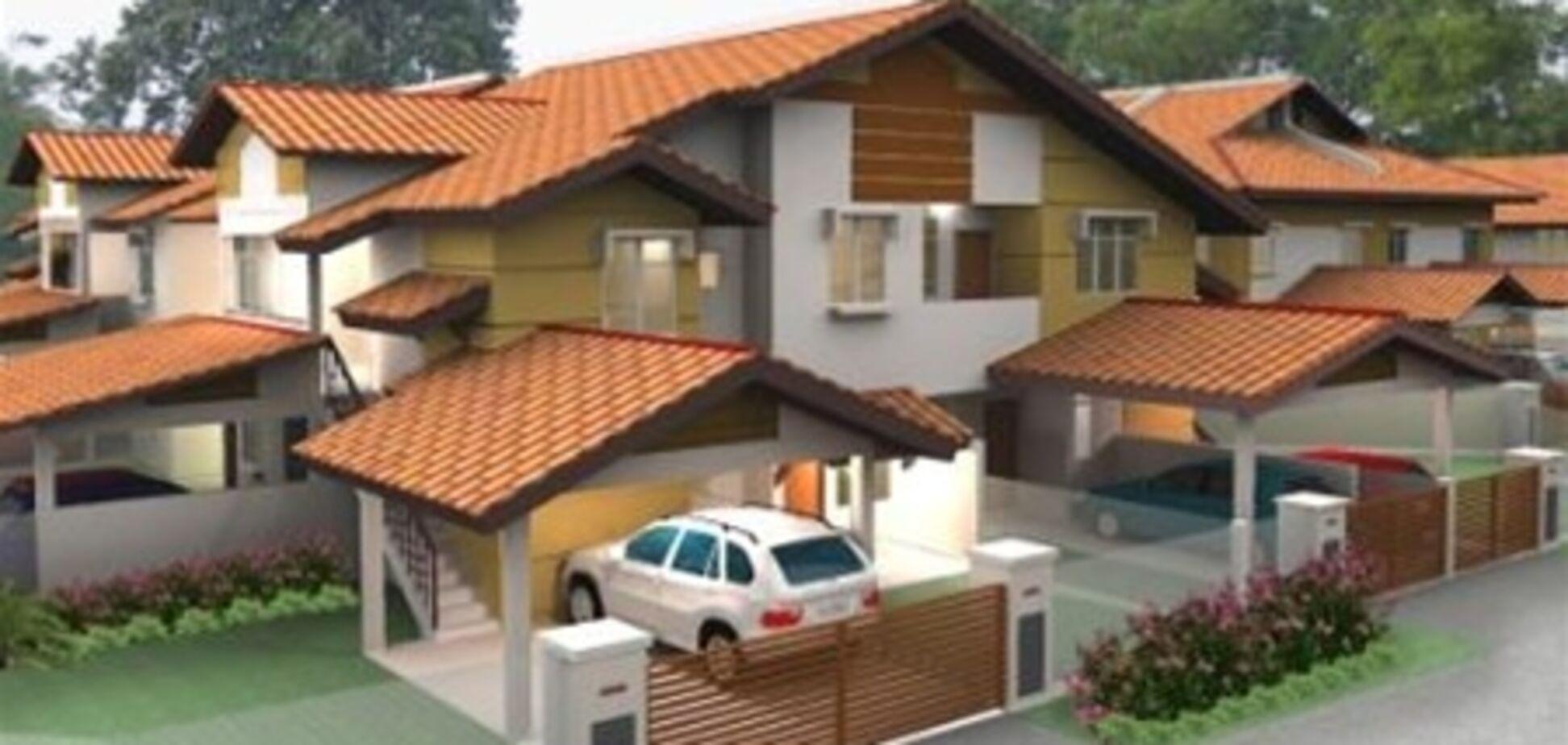 Загородные дома возле Киева продолжают дешеветь