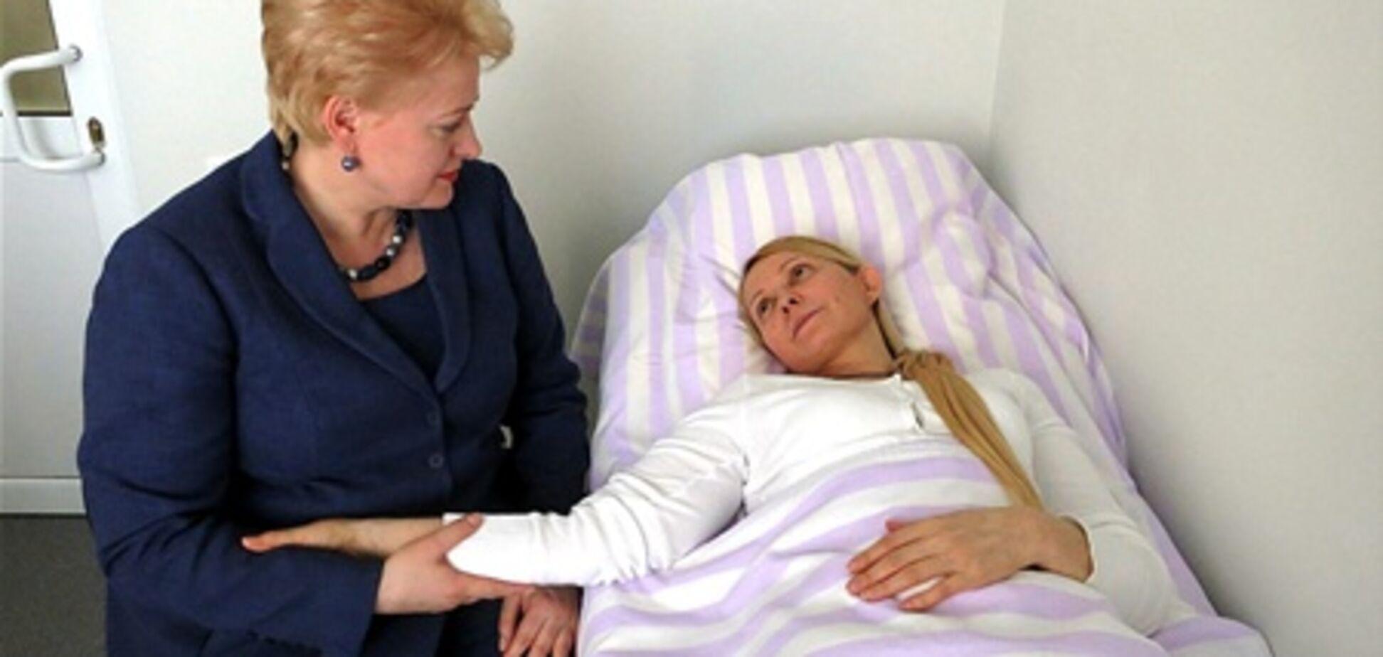 У Тимошенко в больнице было 79 свиданий