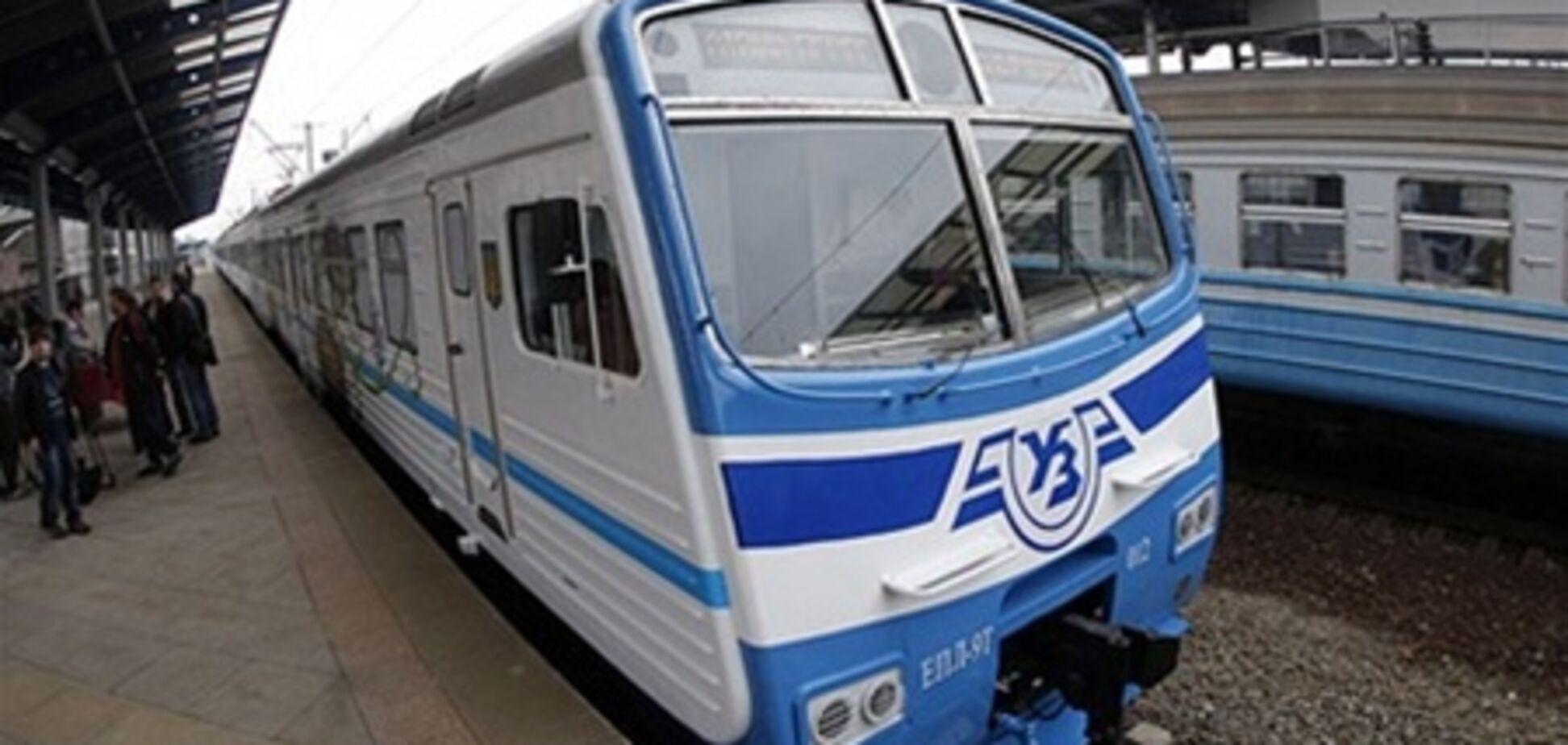 Часть рейсов киевской электрички отменили