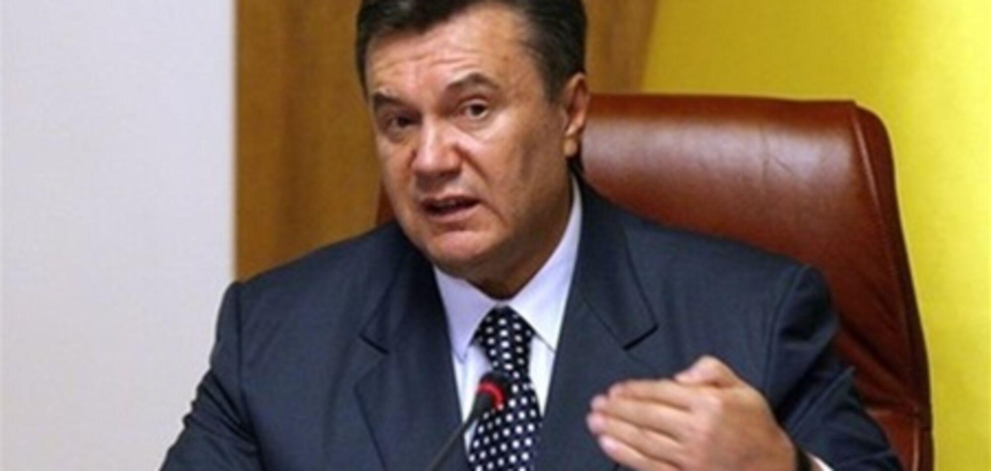 Янукович поручил разобраться с ситуацией вокруг ЛБ и TBi