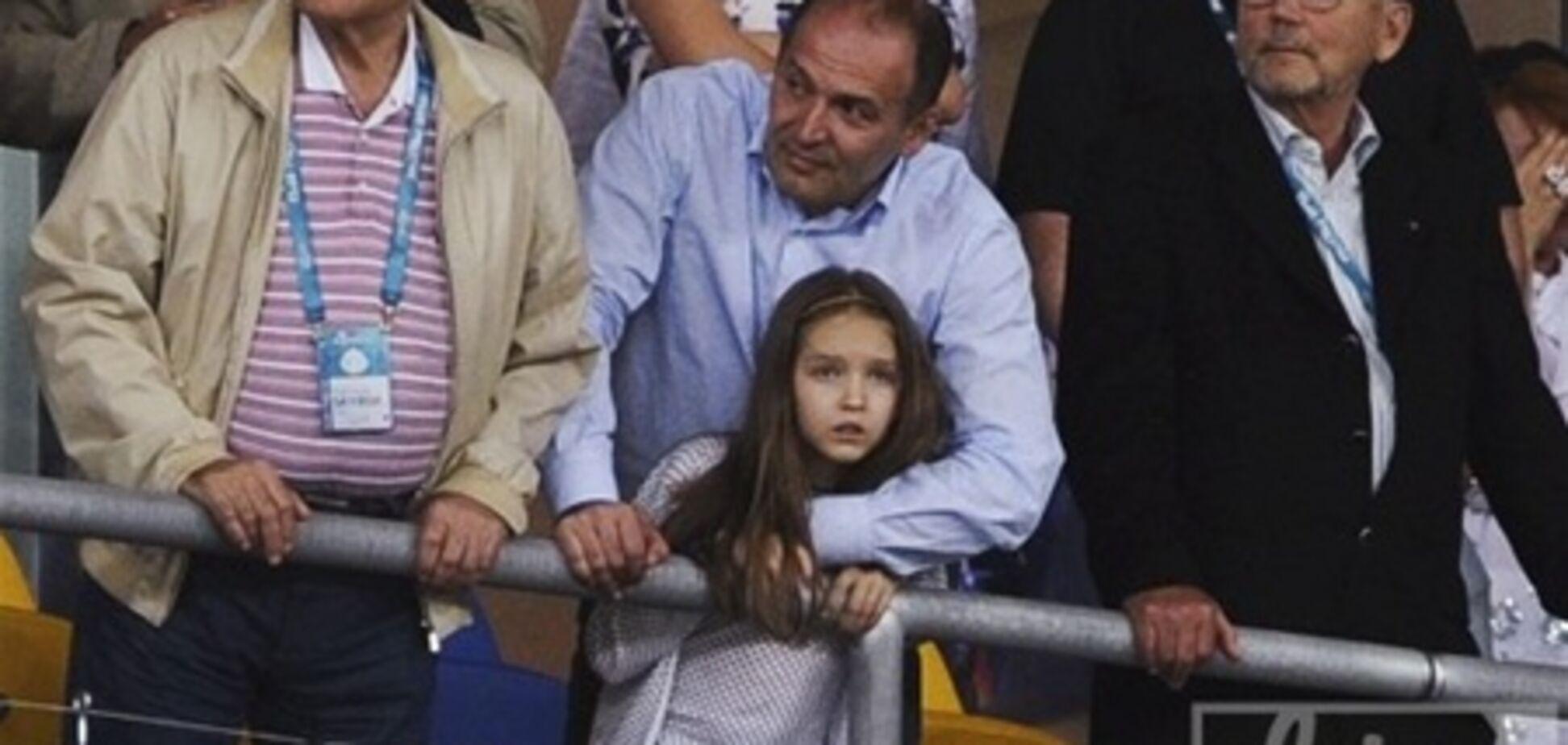 Пінчуки вперше вивели дочку в світло на фіналі Євро