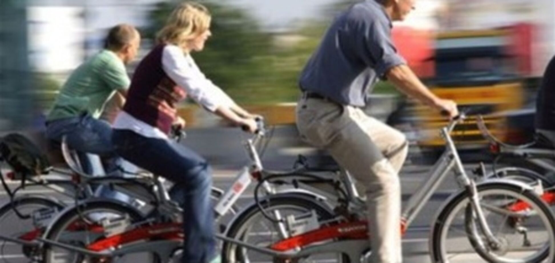 Польских велосипедистов начали штрафовать за превышение скорости