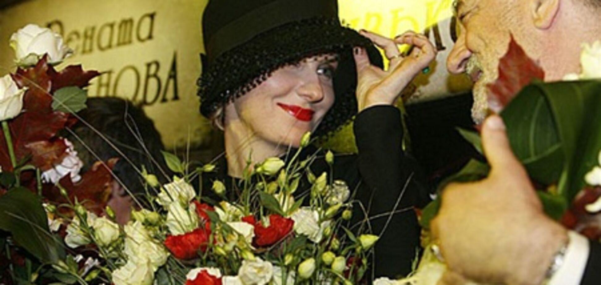 Литвинова: съемки со Ступкой были удовольствием