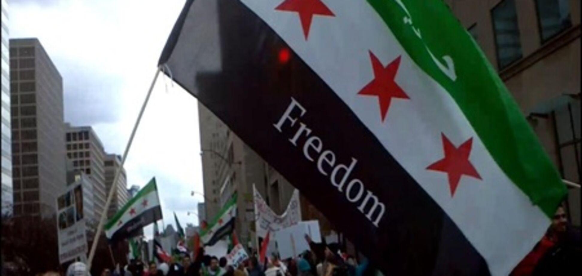 'Арабская весна' в Сирии