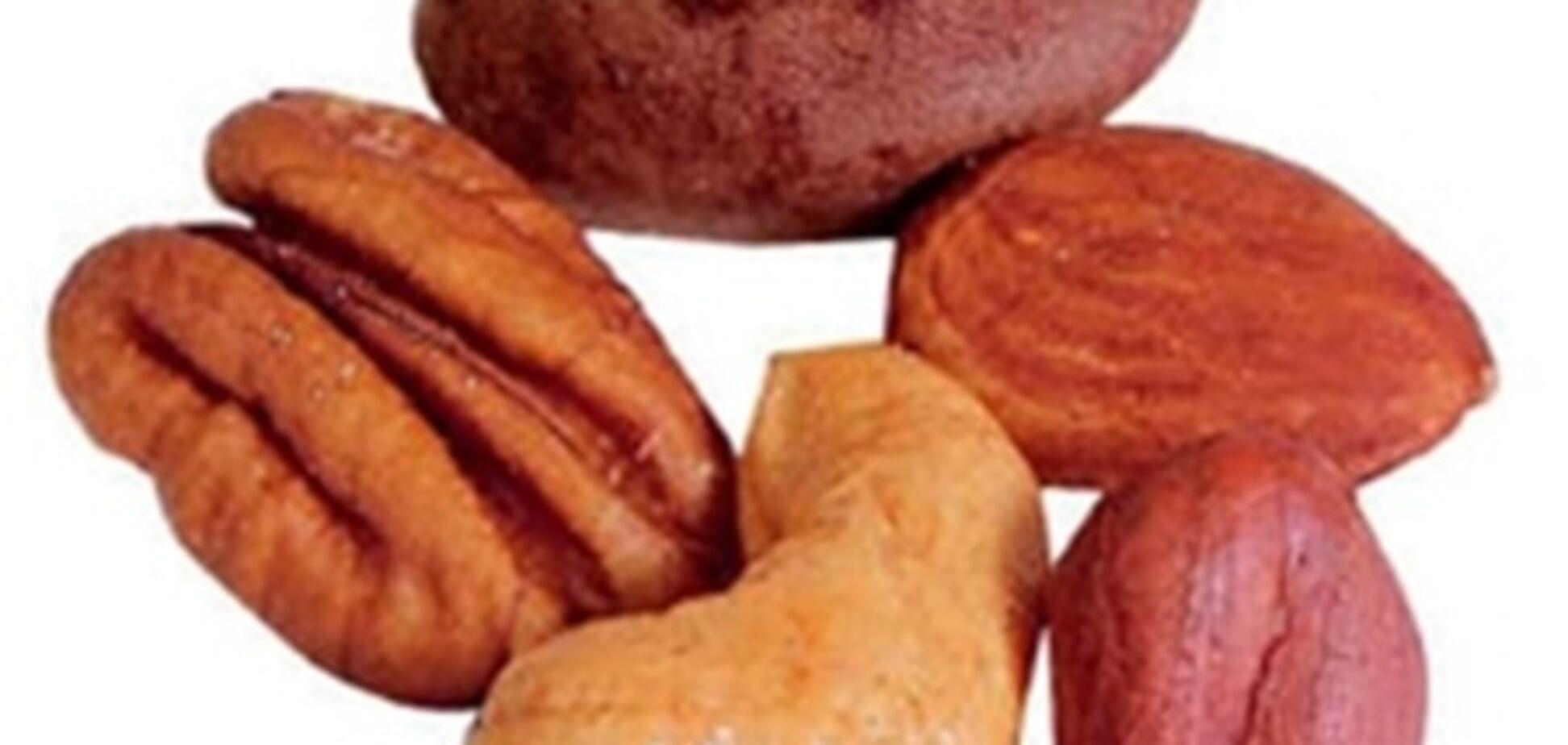 Орехи сохранят зрение