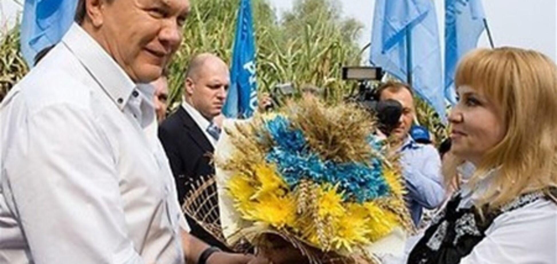 Янукович відсвяткує іменини у Криму
