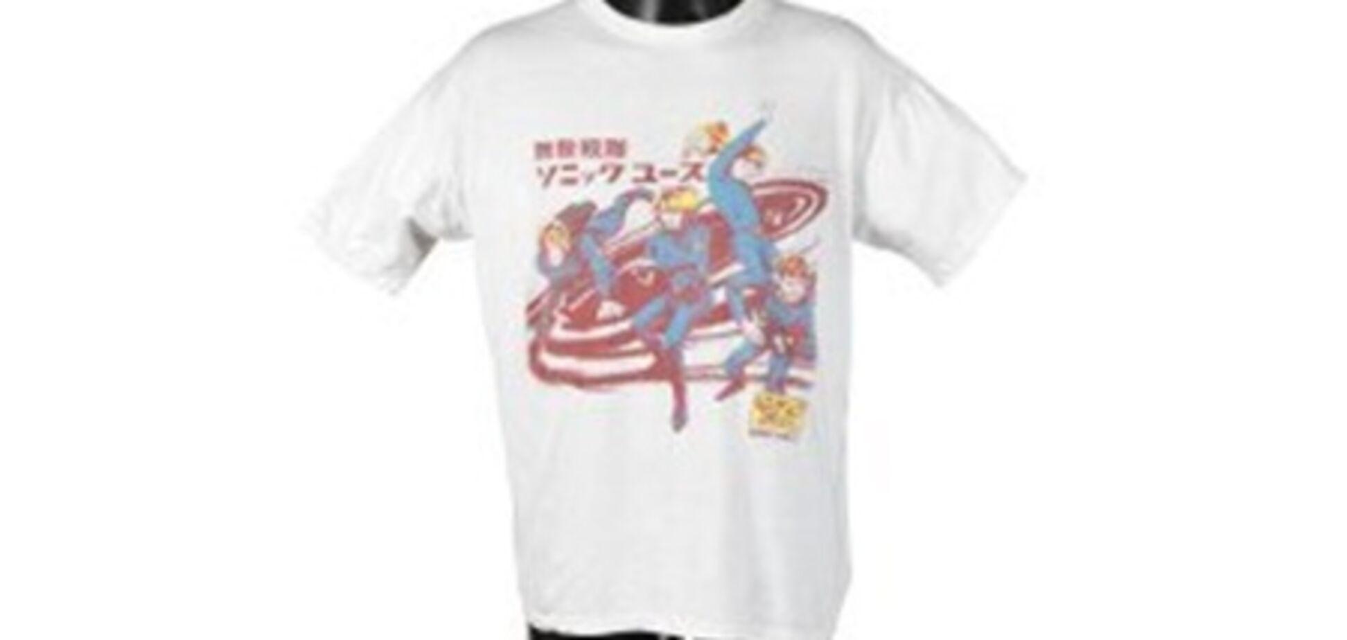 Знаменитую футболку Курта Кобейна пустят с молотка