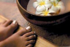 Ванночки для ног от варикоза