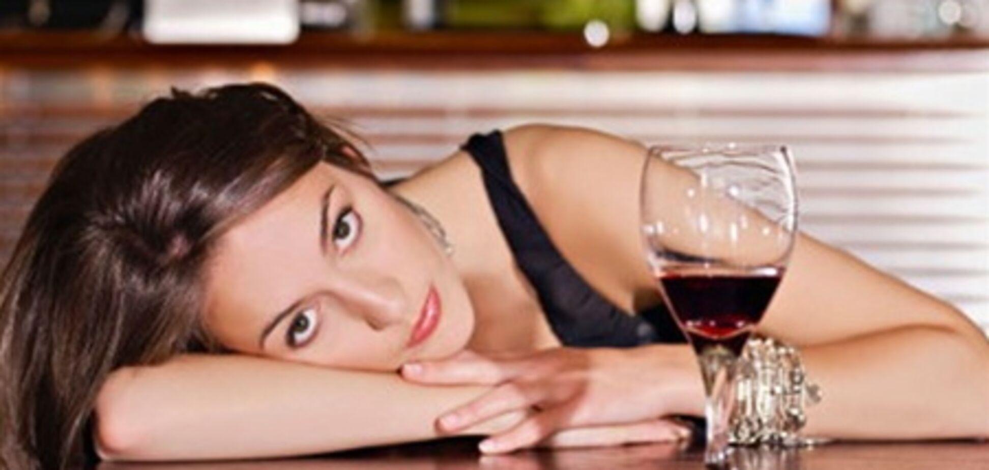 Бездетные женщины становятся алкоголичками