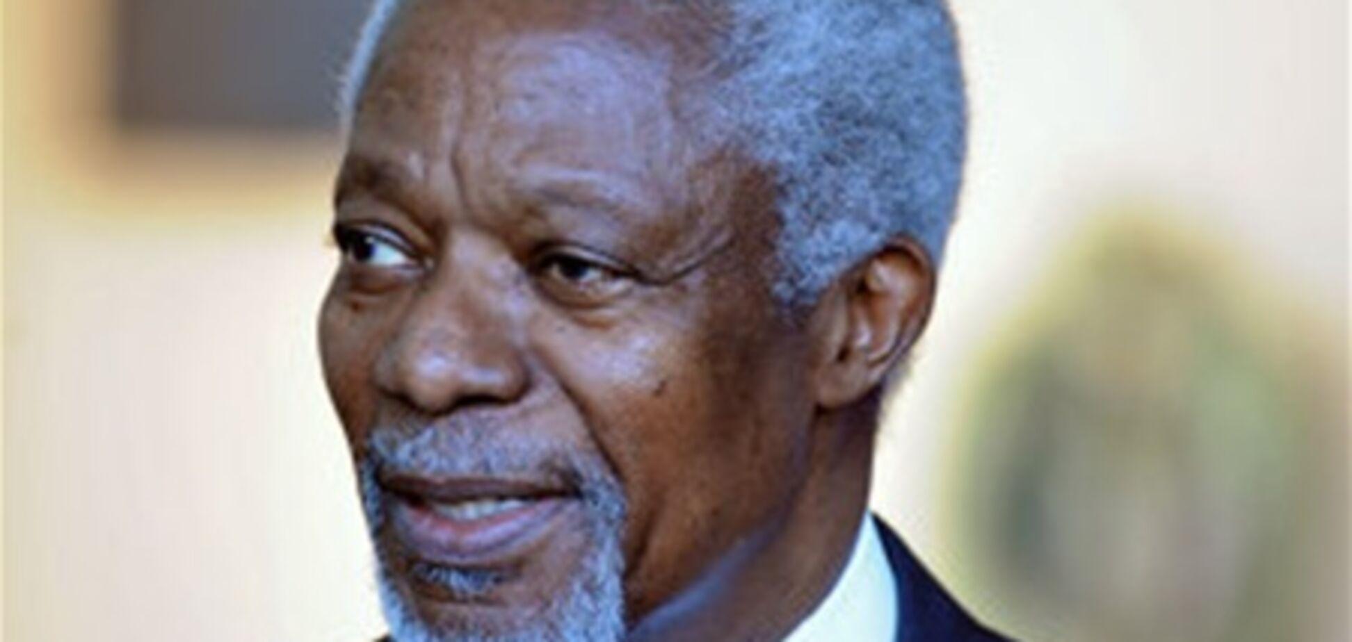 Кофи Аннан признал провал своей миссии в Сирии
