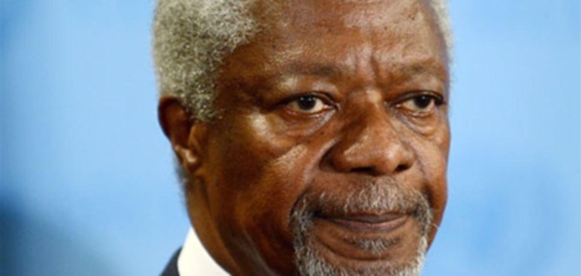 Аннан со срочным визитом посетит Сирию