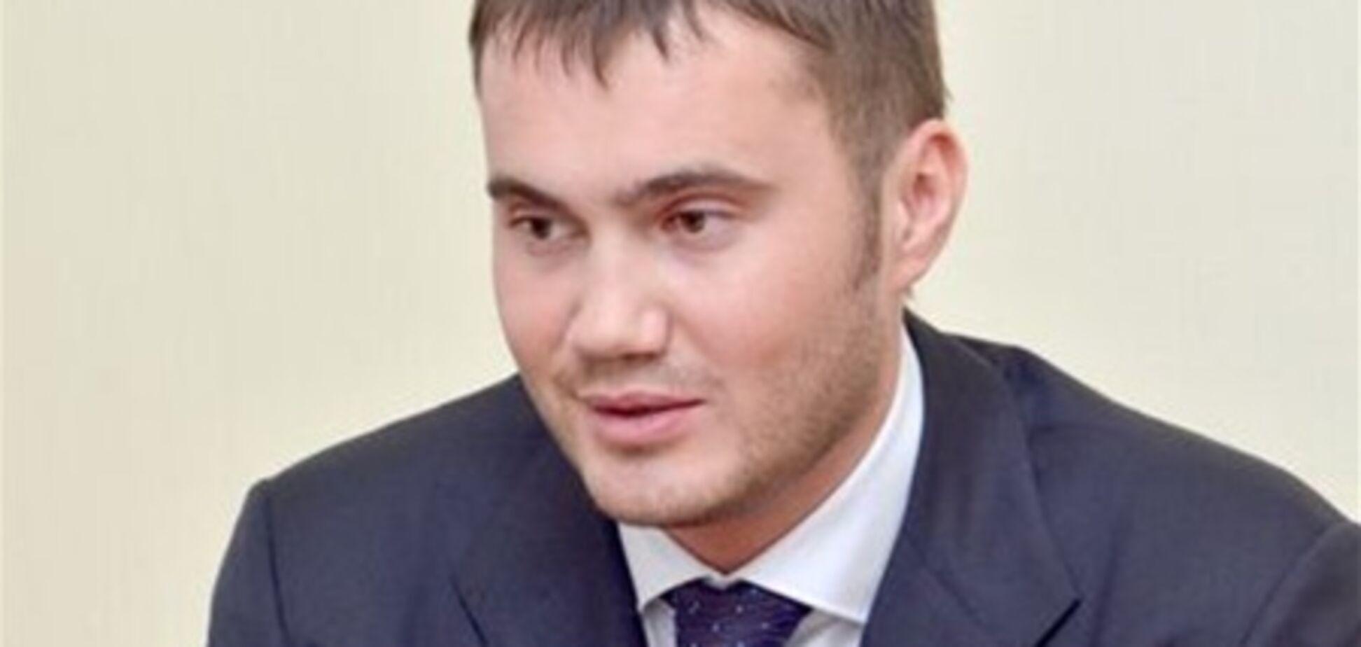 Янукович-молодший працював барменом