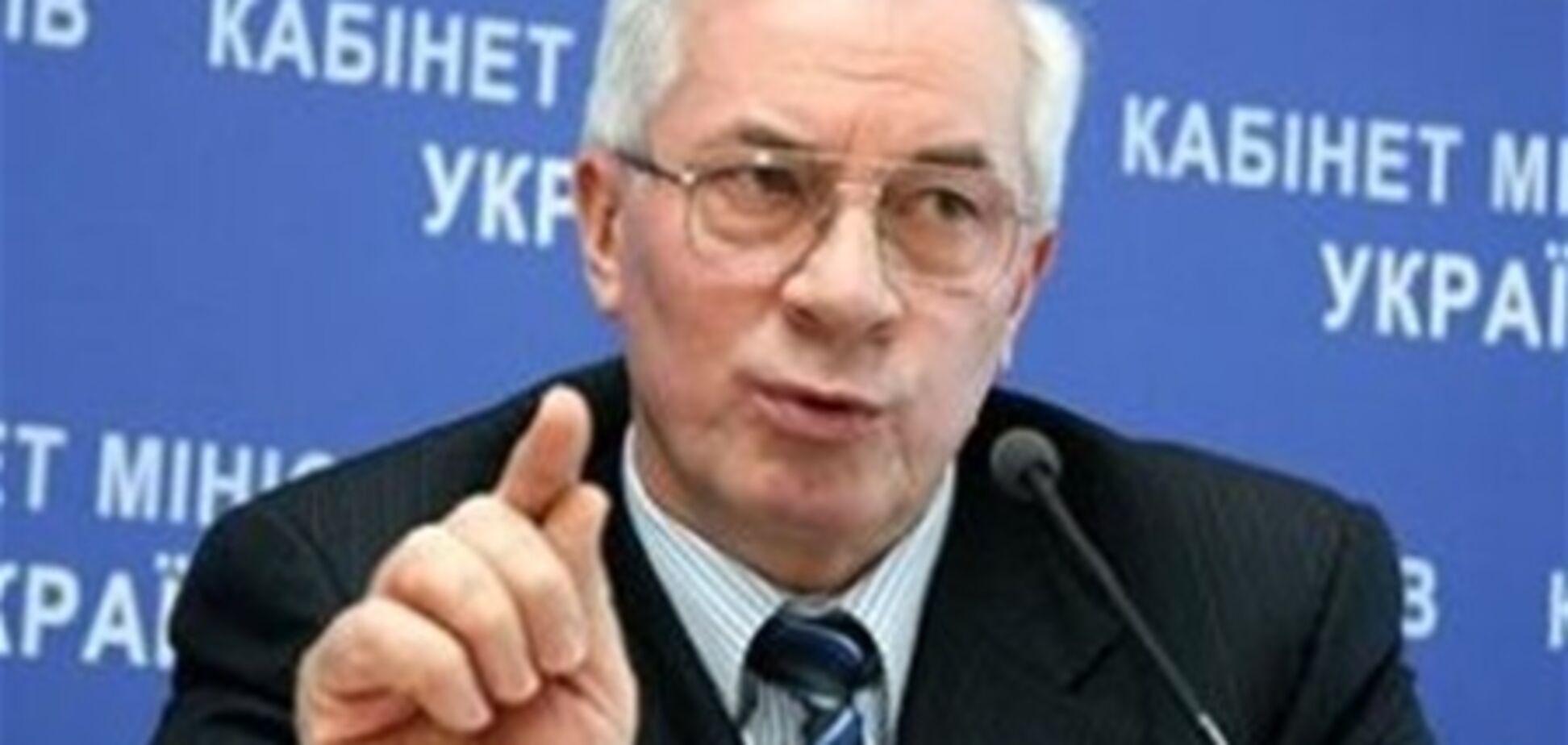 Азаров хочет строить индустриальное жилье
