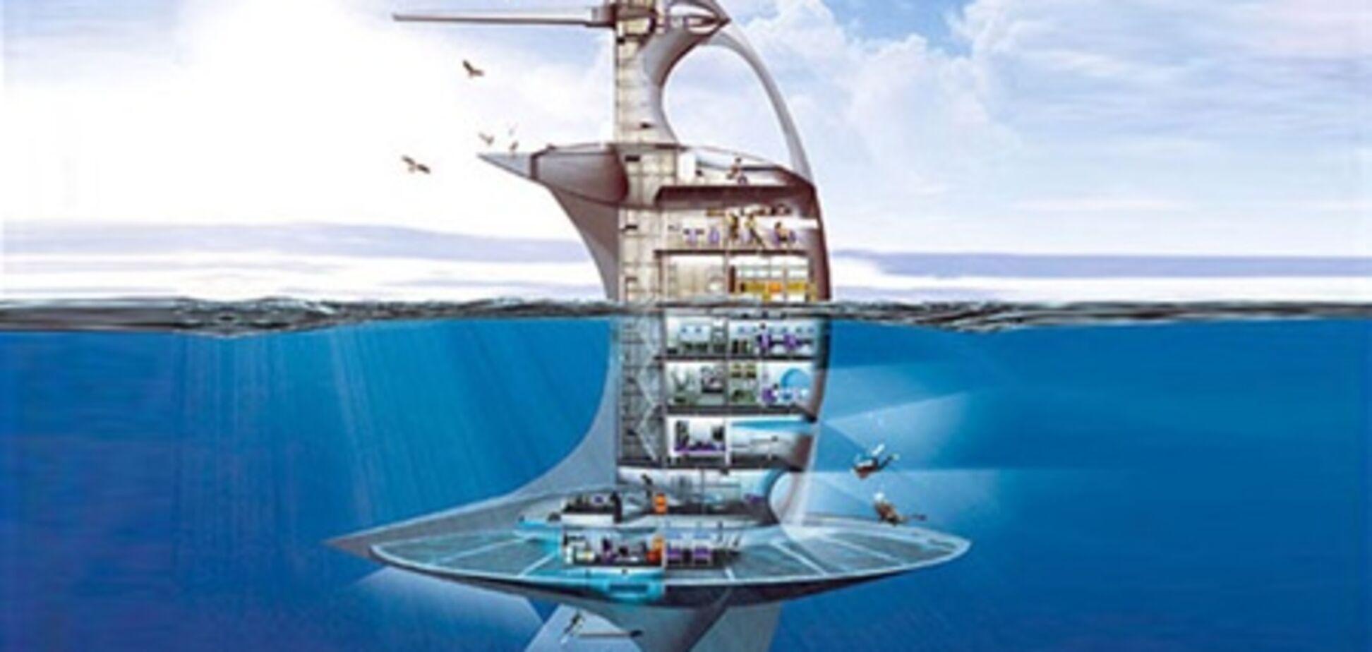 Во Франции построят небоскреб на воде