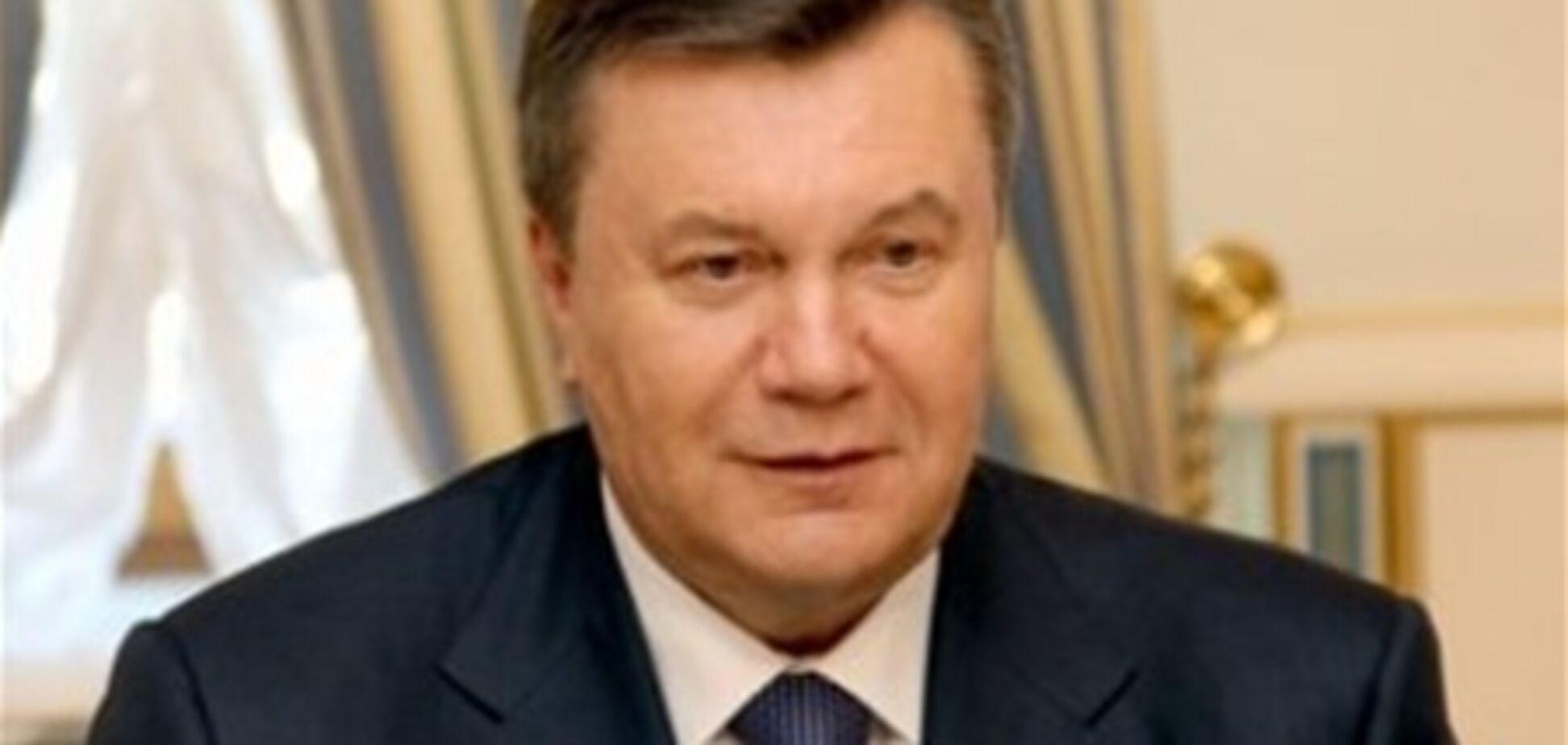 Янукович подписал закон о налоговых льготах для отельеров