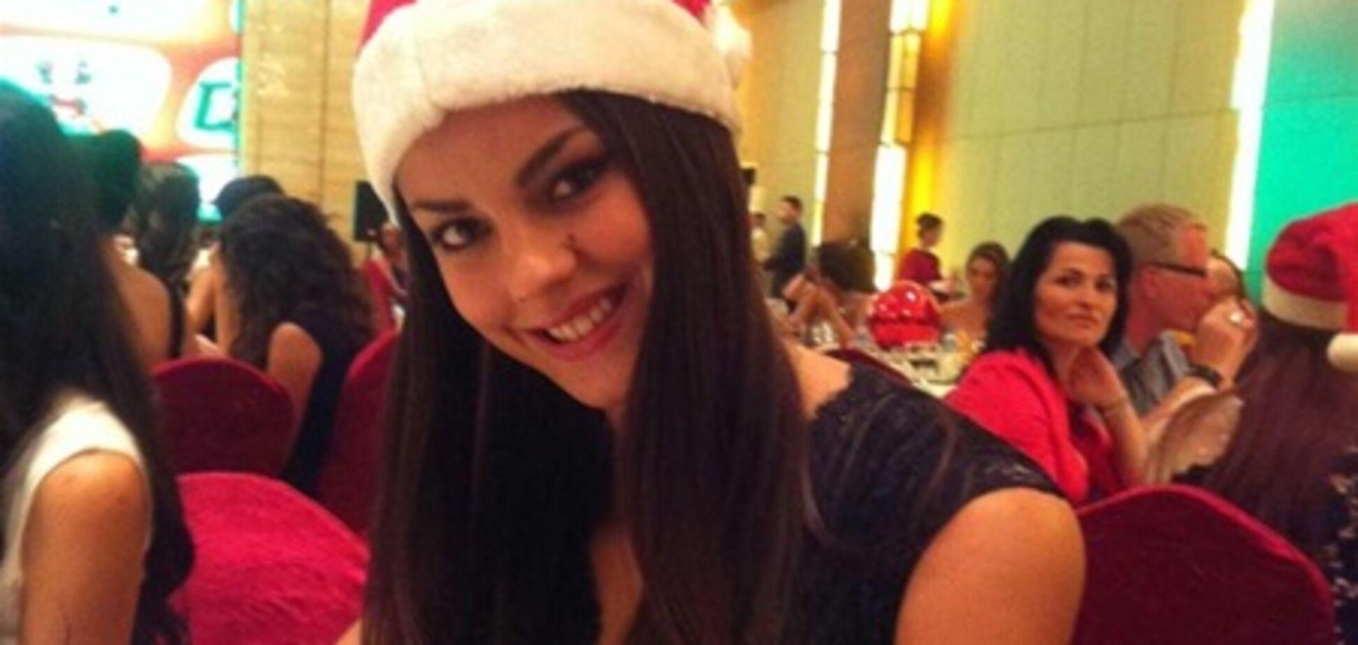 Участницы 'Мисс мира-2012' встретили Новый год