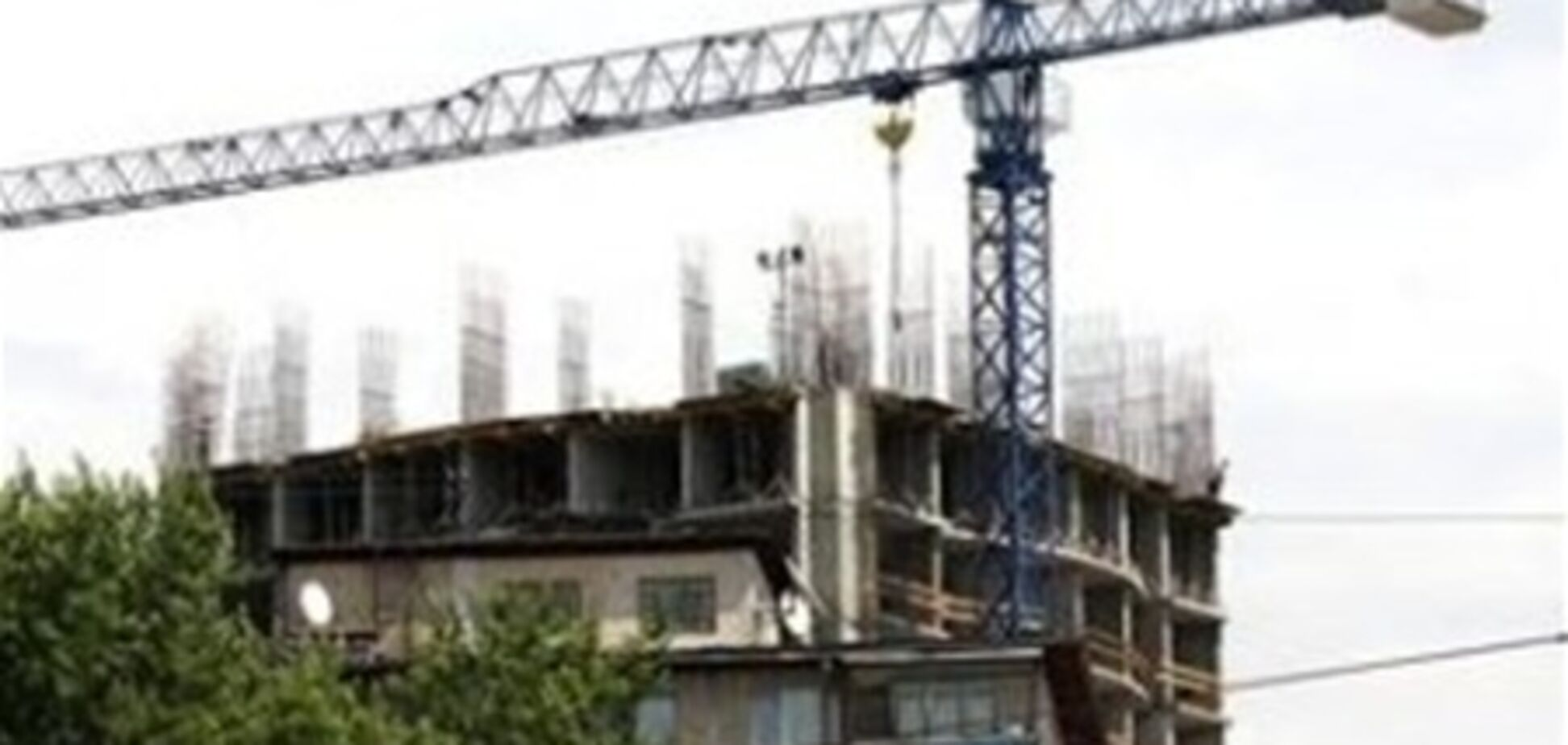 Объемы строительства в Украине сократились на 6%
