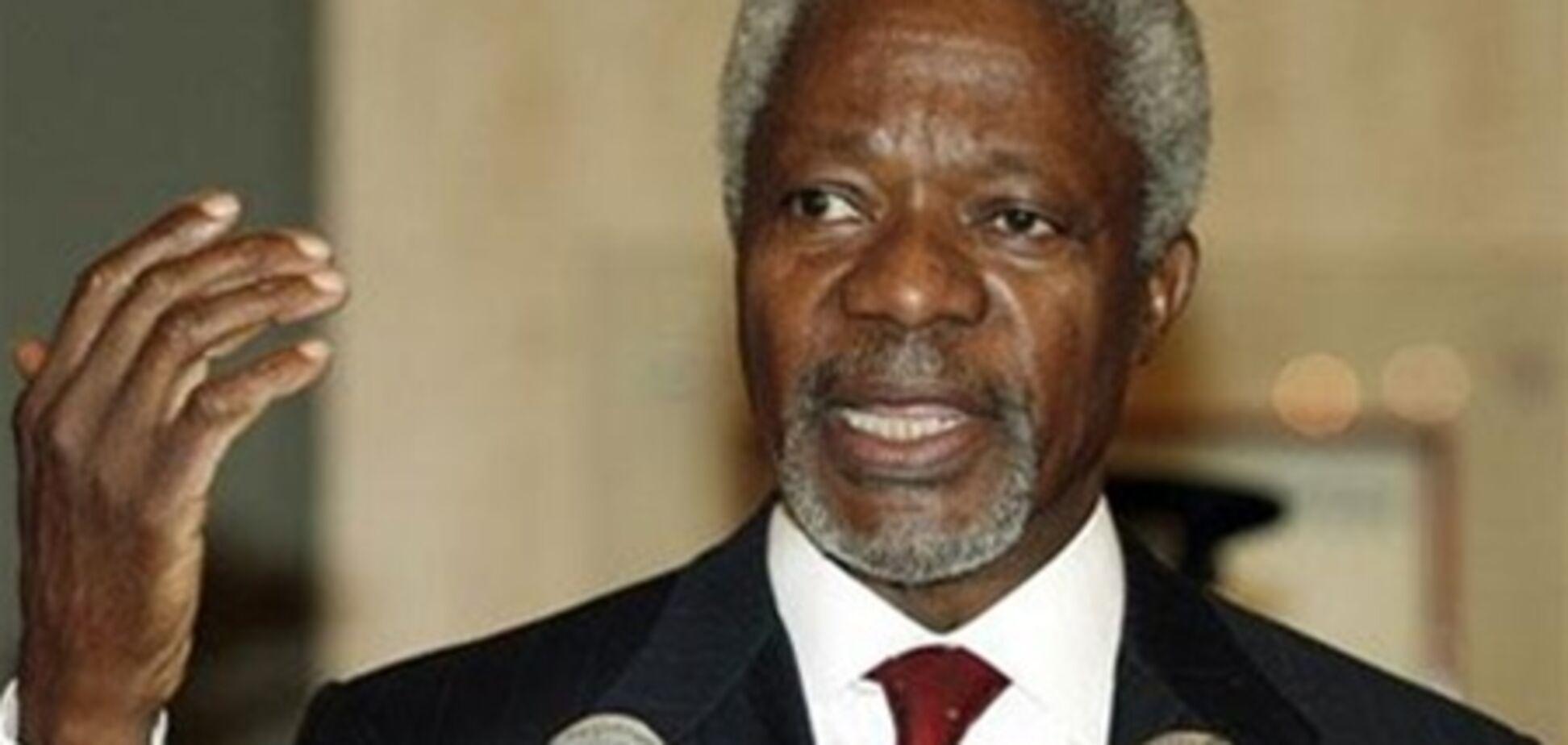 Кофи Аннан покидает пост спецпосланника ООН по Сирии