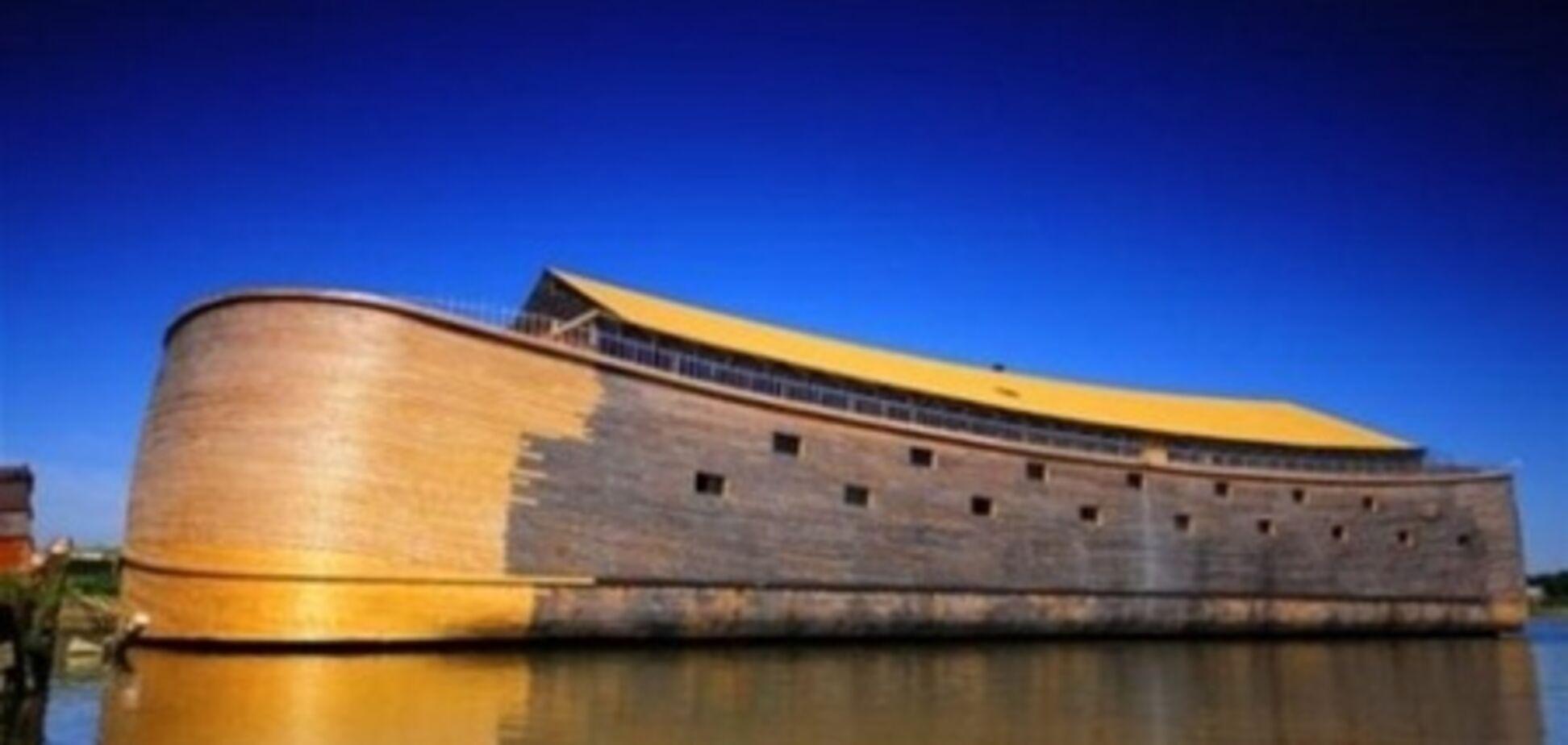 Голландец построил точную копию Ноева ковчега