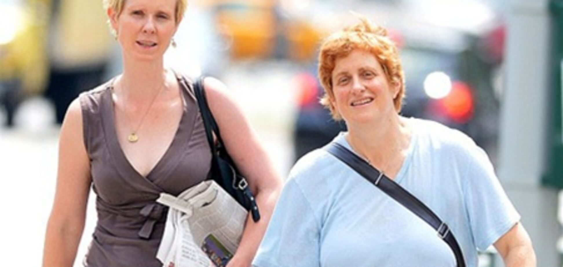 Синтия Никсон планирует родить дочь