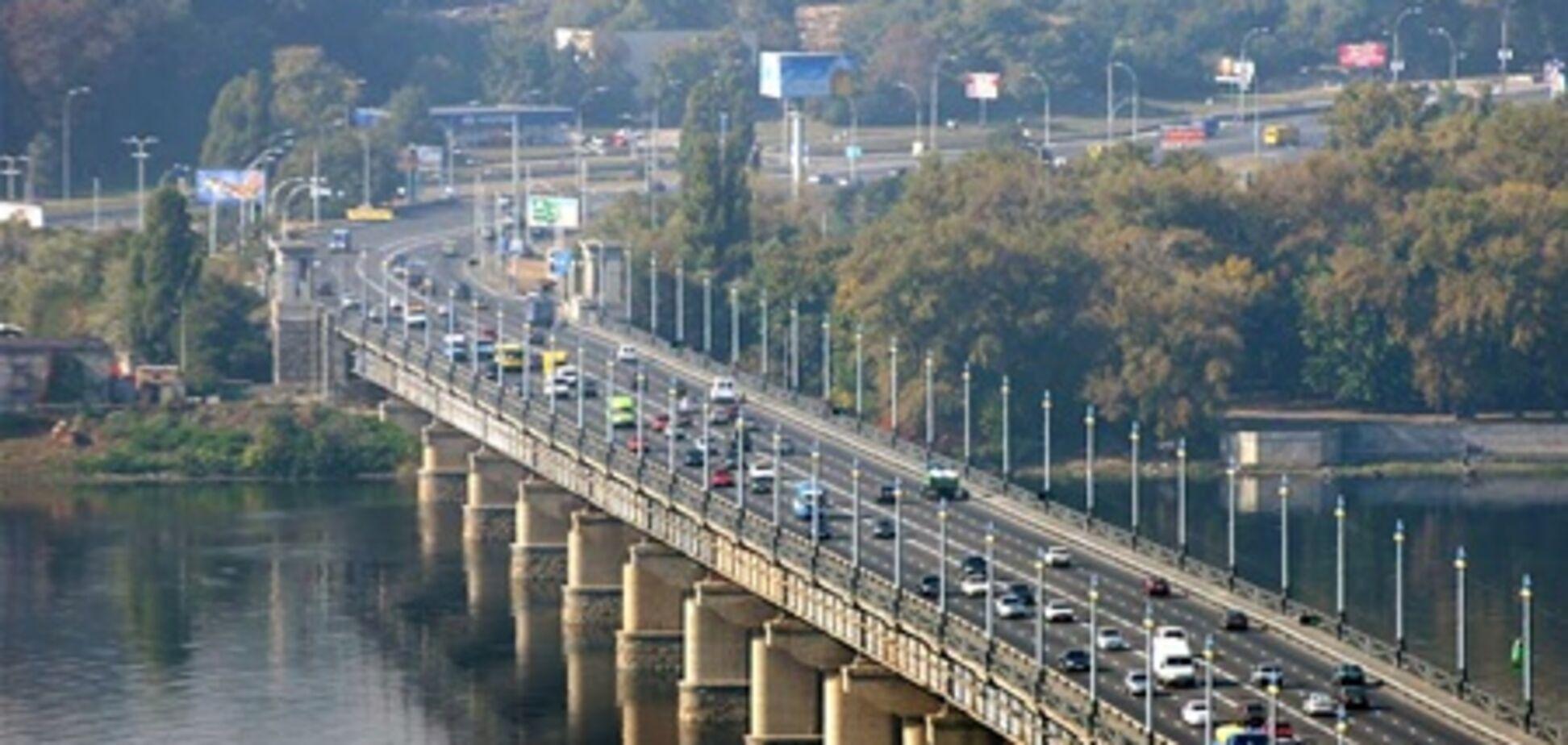 Ремонт на мосту Патона завершат весной