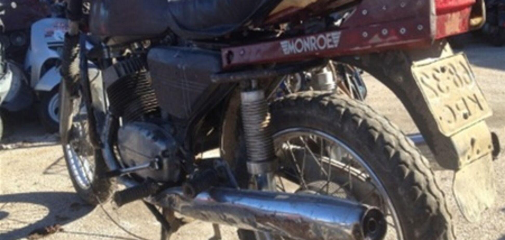 В Севастополе задержан мотоциклист, который, наехав на пешеходов, удрал