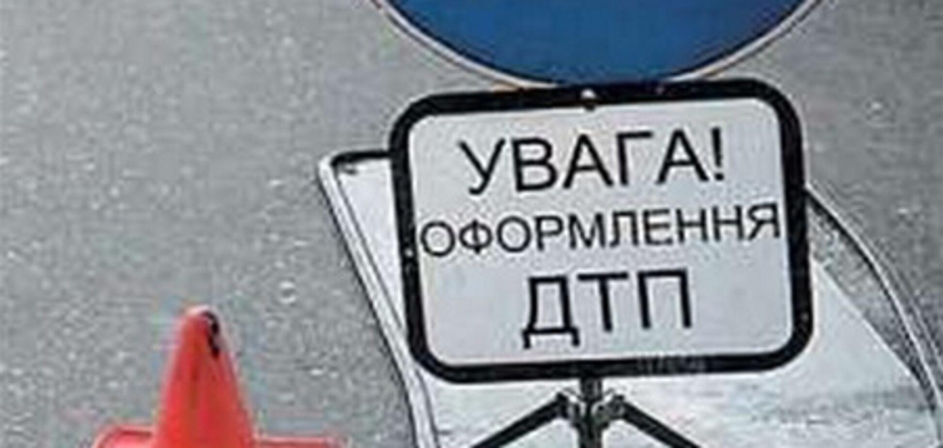 В Ужгороде пьяный участковый наехал на пешехода