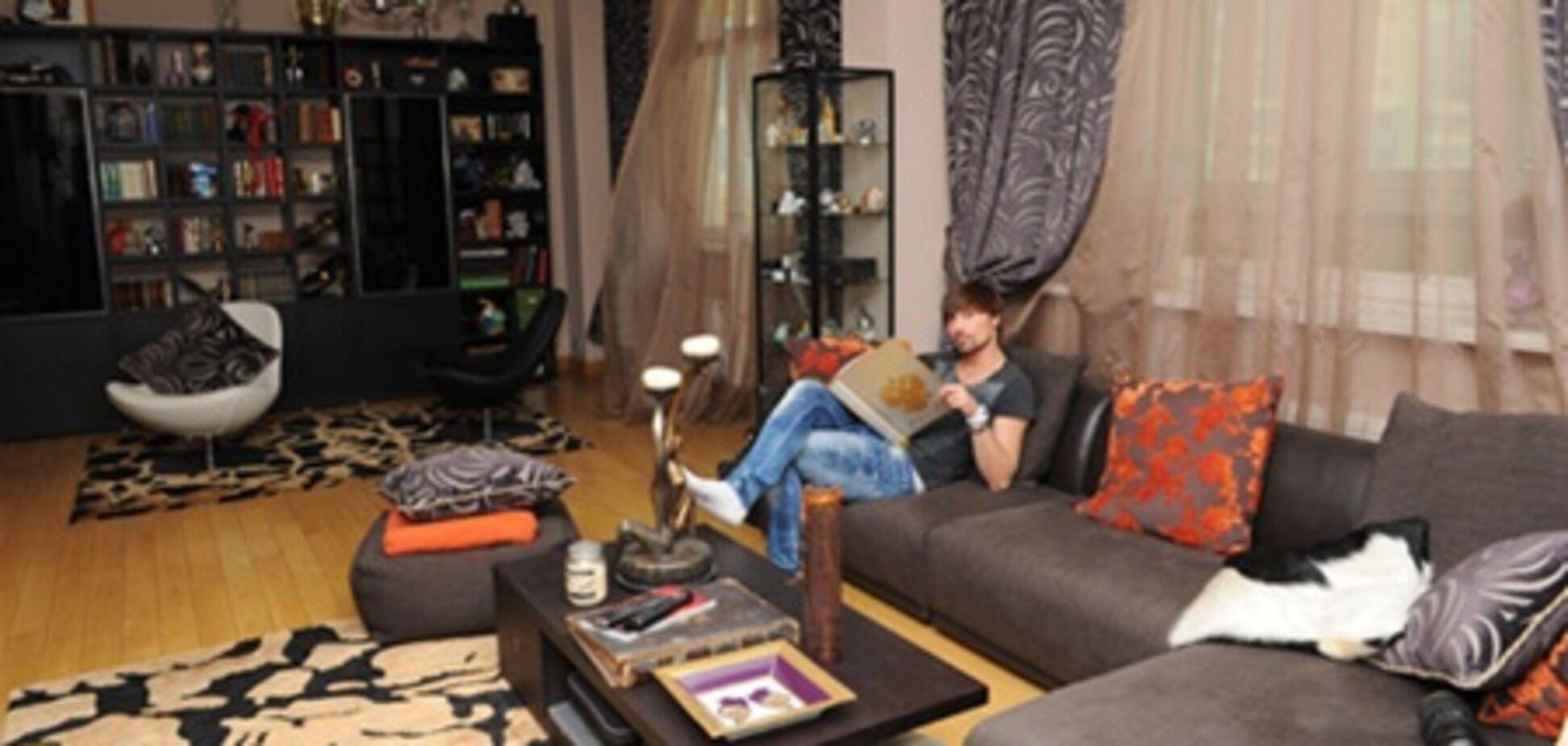 Білан живе у квартирі за мільйон доларів. Фото