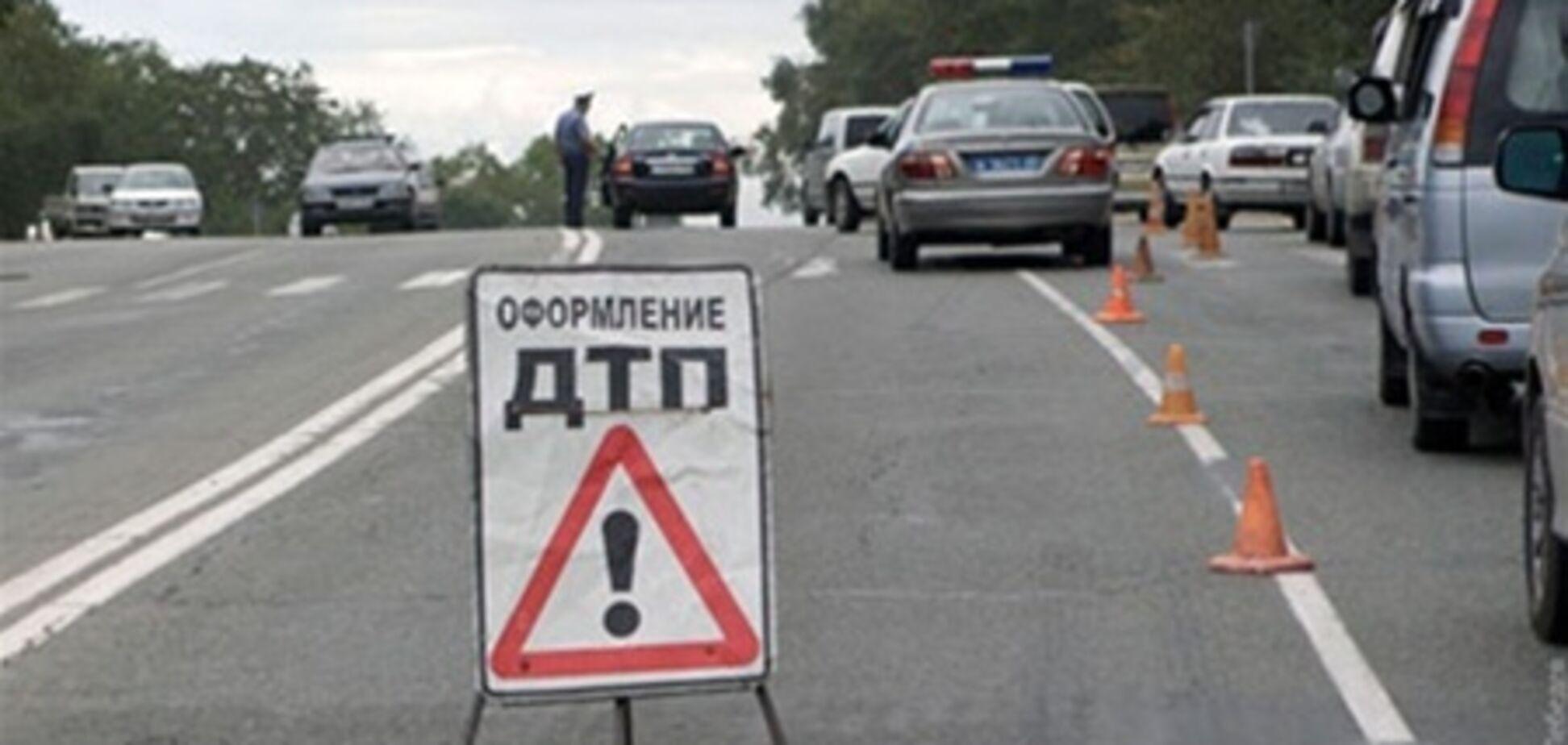 В Киеве водитель сбил пешехода и скрылся