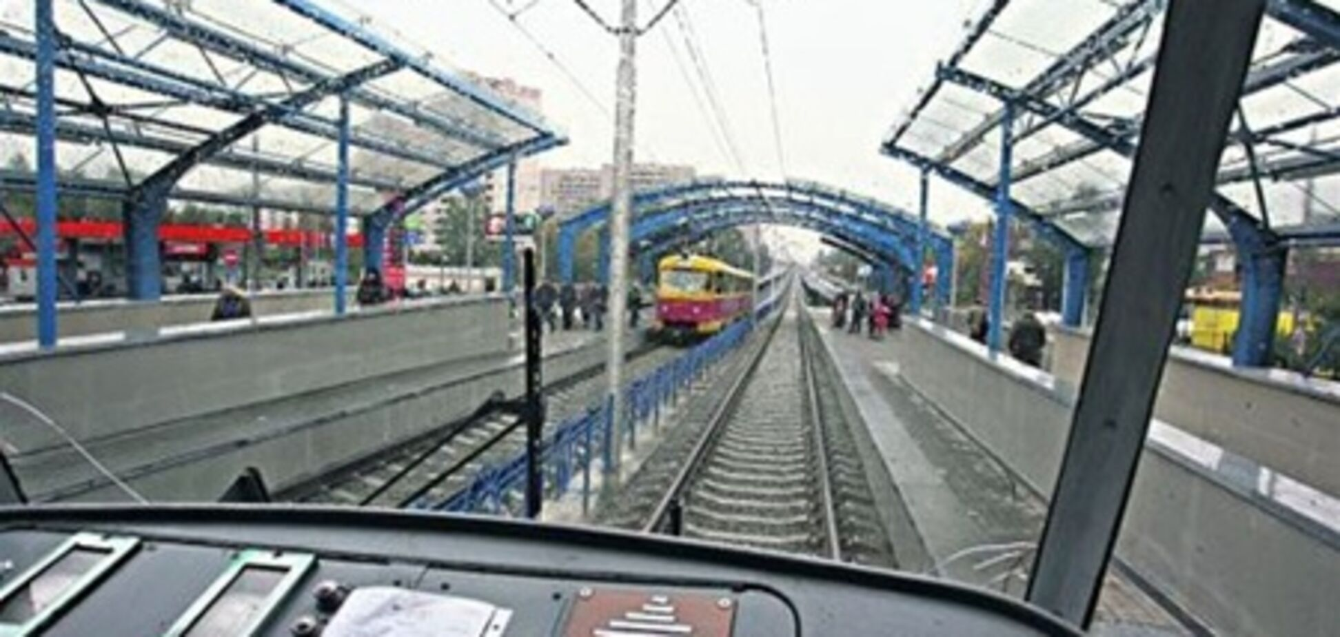 На линии скоростного трамвая произошло ЧП